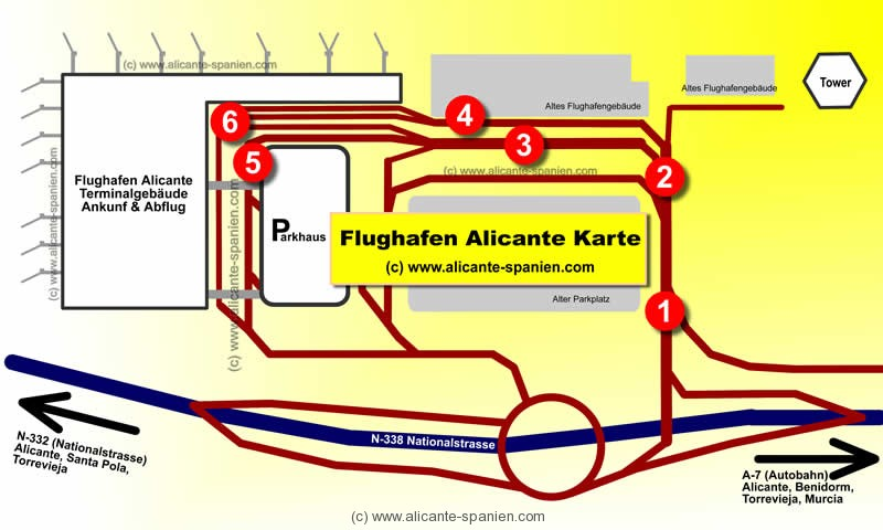 Goldcar Car Hire Alicante Spain