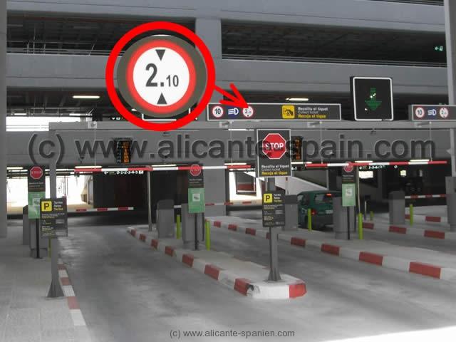 Parken Am Flughafen Alicante