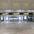 Sicht beim Ankommen am Flughafen Alicante ( Punkt 2 in o.g. Karte)